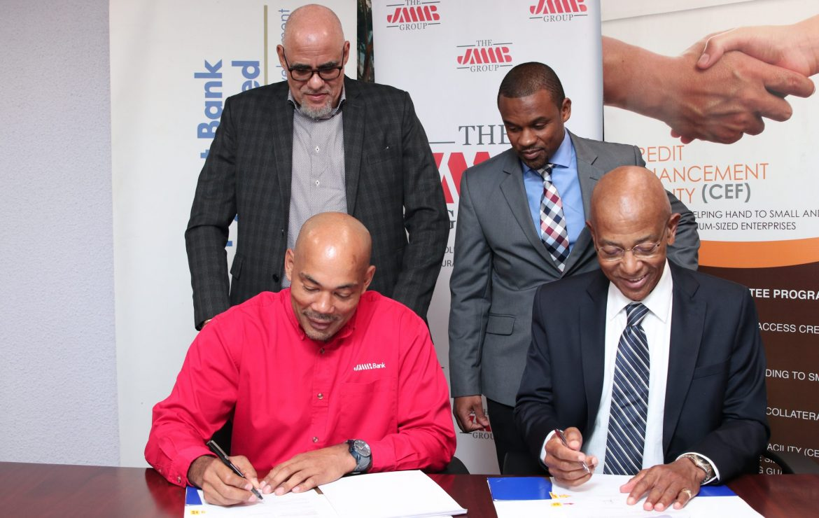 JMMB signs on to DBJ's Credit Enhancement Facility
