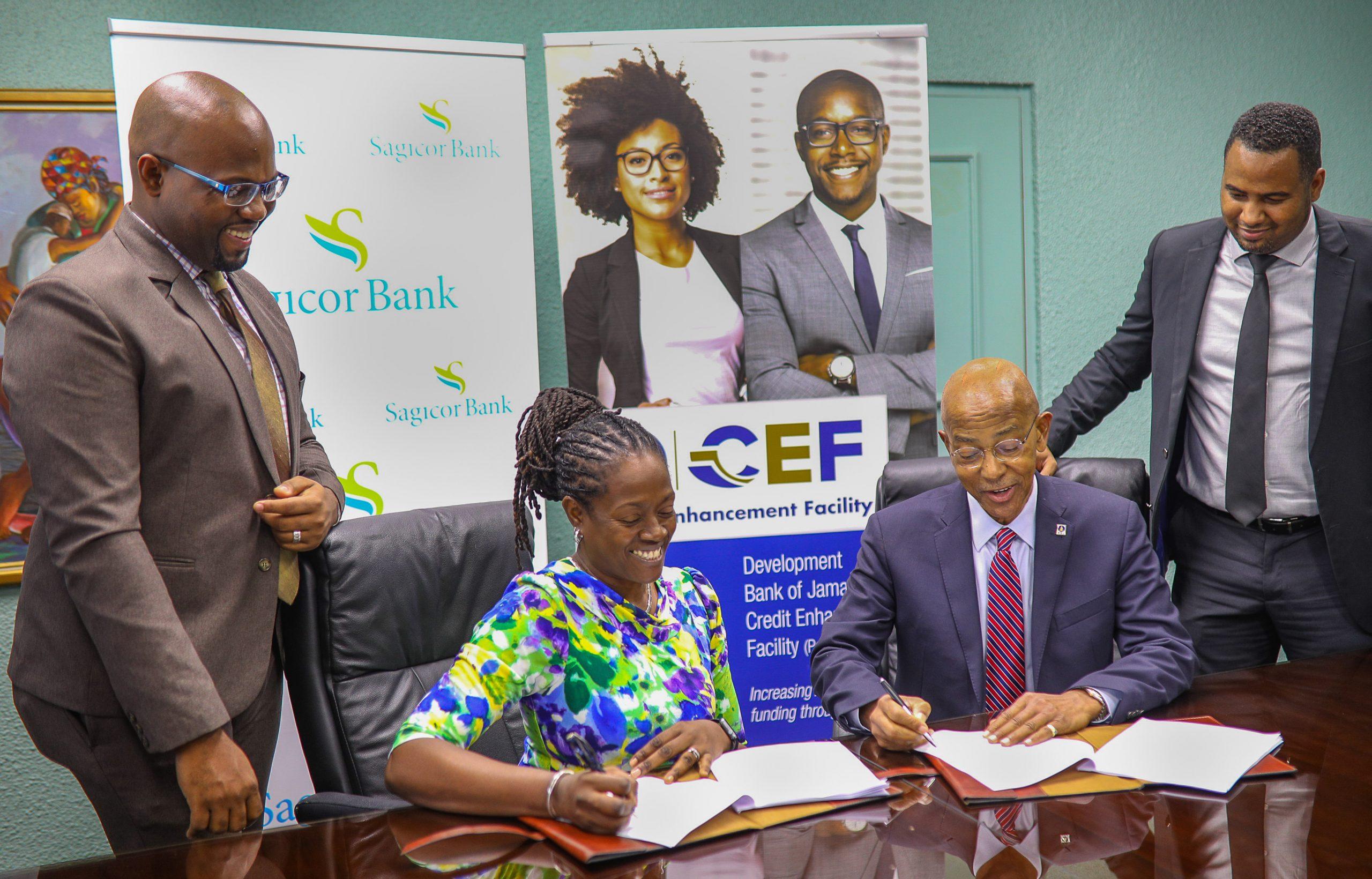 DBJ & Sagicor CEF Signing